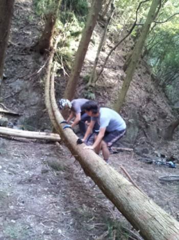 2013 台風後清掃10月9