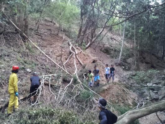 2013 台風後10月4