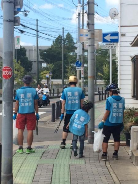 20150823  新稲周辺清掃